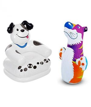 Buy Intex Teddy Chair With Hit Me Bop Bag online