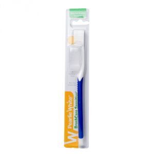 Buy Pearlie White Brushcare Sensitive Extra Soft Toothbrush (blue) (imported) online