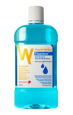 Buy Pearlie White Fluorinze Alcohol Free Mouth Rinse 750ml (imported) online