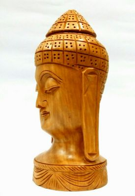 Buy Arts Of India Wooden Buddha Idol online