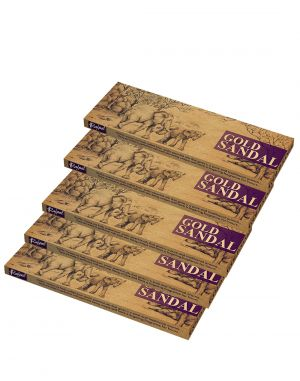 Buy Rajpal Brown Premium Hand Rolled Fragrance Natural Incense Stick (50Gram) online