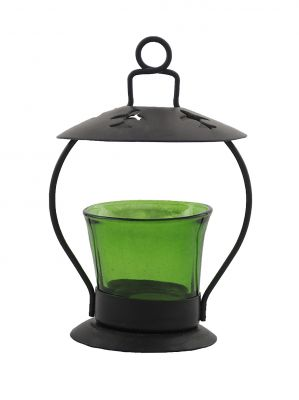 Buy Heaven Decor Decorative Green Tealight Candle Holder online