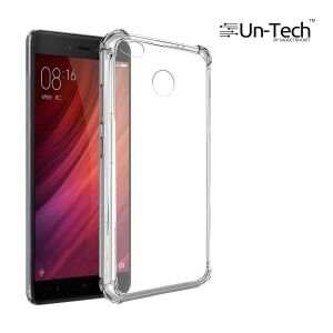Buy Un-tech Redmi_4 Transparent Mobile Back Cover Case With Tpu Corner Protection Phone Cases online