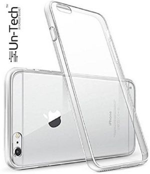 finest selection 2d3a3 a24c0 Un-tech iPhone 6 Silicon Transparent Mobile Back Cover Case With Tpu Corner  Protection For Apple iPhone 6
