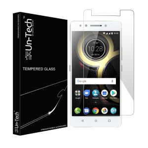 Buy Un-tech Tempered Glass Screen Protector For Lenovo K8 Note With Installation Kit online