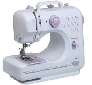 Buy Ergode Electric Household Sewing Machine With Pedal LED Light 12 Built In Stitch Pattens online