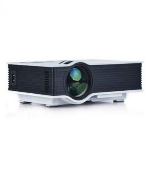 Buy Untech Mini Pico Portable Video Projector Uc40 Full Cinema Experience Projector (white) online