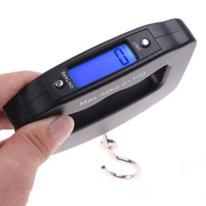 Buy Ergode Digital Heavy Duty Hook Type Luggage Weighing Scale (50 Kg Multicolour) online