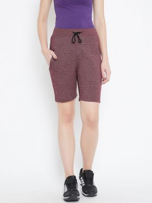 Buy C9 Airwear Maroon Cycling, Gym Yoga Shorts For Women online