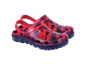 Buy Red and Blue Stylish Crocs Sandals for Men online