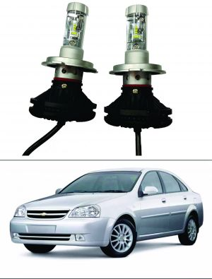 Buy Trigcars Chevrolet Optra Old Car Glass LED Head Light online