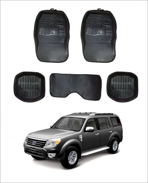 Buy Trigcars Car Carpet Black Car Floor/foot Mats For Ford Endeavour Old online
