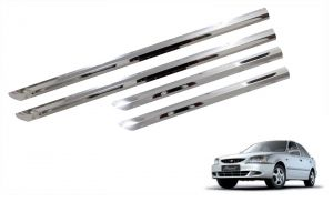 Buy Trigcars Hyundai Accent Car Steel Chrome Side Beading online