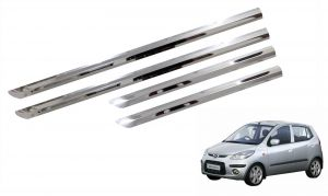 Buy Trigcars Hyundai I10 Old Car Steel Chrome Side Beading online
