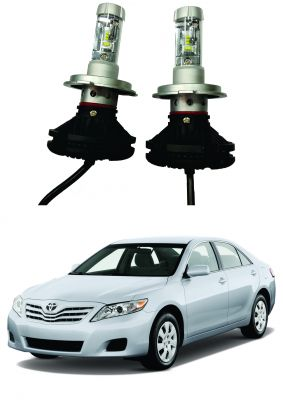 Buy Trigcars Toyota Camry Old Car Glass LED Head Light online