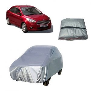 Buy Trigcars Ford Figo Aspire Car Cover Silver online
