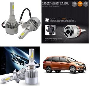 Buy Trigcars Honda Mobilio Car LED Hid Head Light online