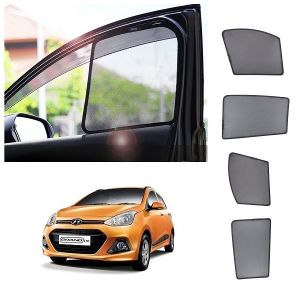 Buy Trigcars Hyundai I10 Grand Car Half Sun Shade online