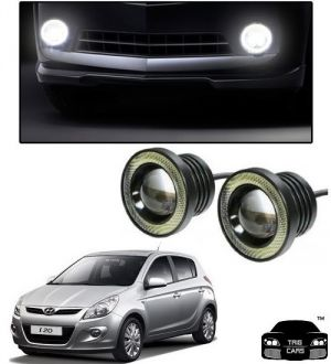 Buy Trigcars Hyundai I20 Old Car High Power Fog Light With Angel Eye online