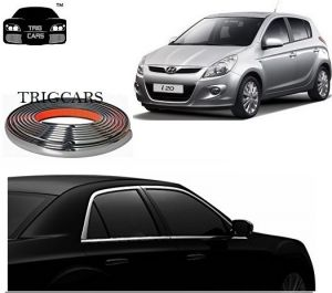 Buy Trigcars Hyundai I20 Old Car Side Window Chrome Beading Moulding