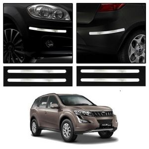 Buy Trigcars Mahindra Xuv 500 Old Car Chrome Bumper Scratch Potection Guard Car Bluetooth online