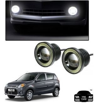 Buy Trigcars Maruti Suzuki Alto 800 Car High Power Fog Light With Angel Eye online