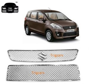Buy Trigcars Maruti Suzuki Ertiga Old Car Front Grill Chrome Plated online