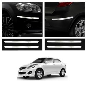 Buy Trigcars Maruti Suzuki Swift Dzire 2009 Car Chrome Bumper
