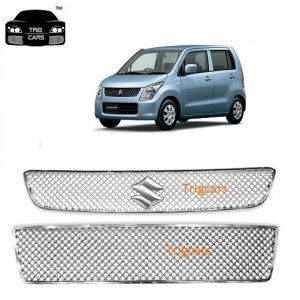 Buy Trigcars Maruti Suzuki Wagonr Old Car Front Grill Chrome Plated online