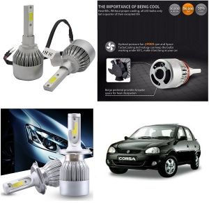 Buy Trigcars Opel Corsa Car LED Hid Head Light online