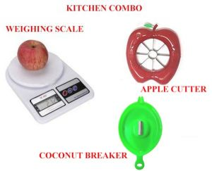 4c455705a Buy Kitchen Utility Combo Set Of 3 Electronic Kitchen Digital Weight  Machine Weighing Scale 10 Kg