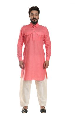 Buy Men Pathani Suit Set Cotton Silk( Code - Akakpth01) online