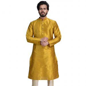 Buy Limited Edition Cotton Silk Regular Fit Self Design Kurta Pajama ( Code - Akakkuset018) online