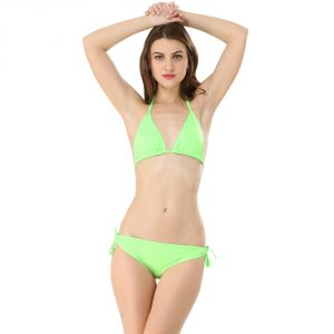 Buy Fascinating Lingerie-Green Bikini Set online