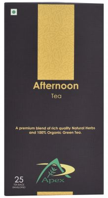 Buy Apex - Afternoon Tea (herbal Tea) Green Tea Bags 25 Tea Bags online