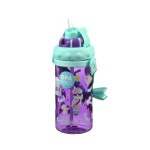 Buy Smily Kiddos | Smily Sipper Water Bottle (purple) online