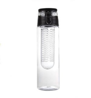 Buy Trending Ideas Fruit Infuser Water Bottle-750 Ml(black) online