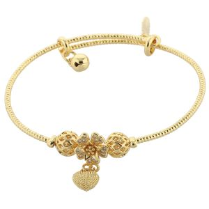 Buy Silver Shine Adjustable Traditional Bangle Bracelet Jewelry - ( Code - Nm-761 ) online