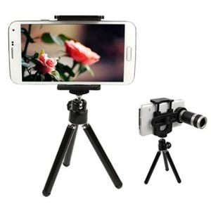 Buy Mobile Phone Telescope Optical Zoom Lens Telescope Camera With Stand online