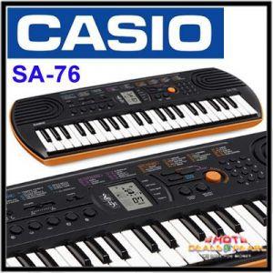 0d5897450 Buy Casio Sa-76 Musical Keyboard Online
