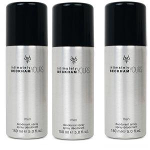 Buy Set Of 3 Beckham Intimately Yours Man Deo Body Spray 150 Ml Online