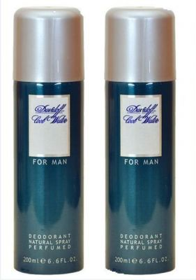 Buy Set Of 2 Davidoff Cool Water Man Deodorant Body Spray 200ml online