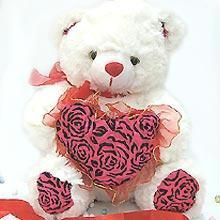 Buy Valentine-gifts - Musical, Lovable And Cute Teddy Bear For Your Valentine online