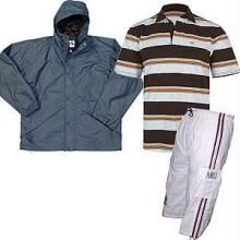 Buy Branded Rain Jacket + Polo T-shirt + Short online