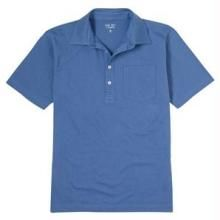 Buy Collared Plain Casual T-shirt - Blue online