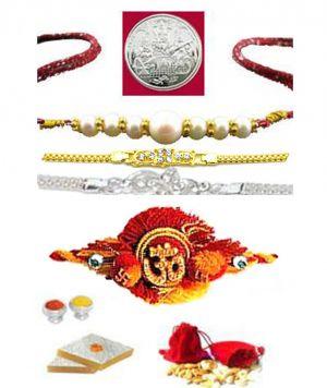 Buy Exclusive Auspicious Rakhi Hamper....for Your Brother online