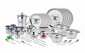 Buy Premium Quality Stainless Steel 67 PCs Dinner Set online