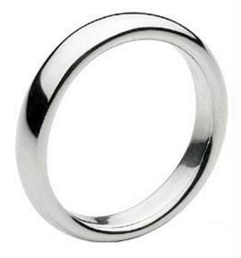 Buy All Time Favorite Simple Band Ring For Men online