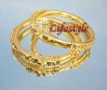 Buy Gold Plated Jewellery Ethnic Kada online