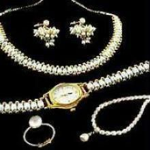 Buy 2 Fresh Water Pearl Sets With Watch With Ring online